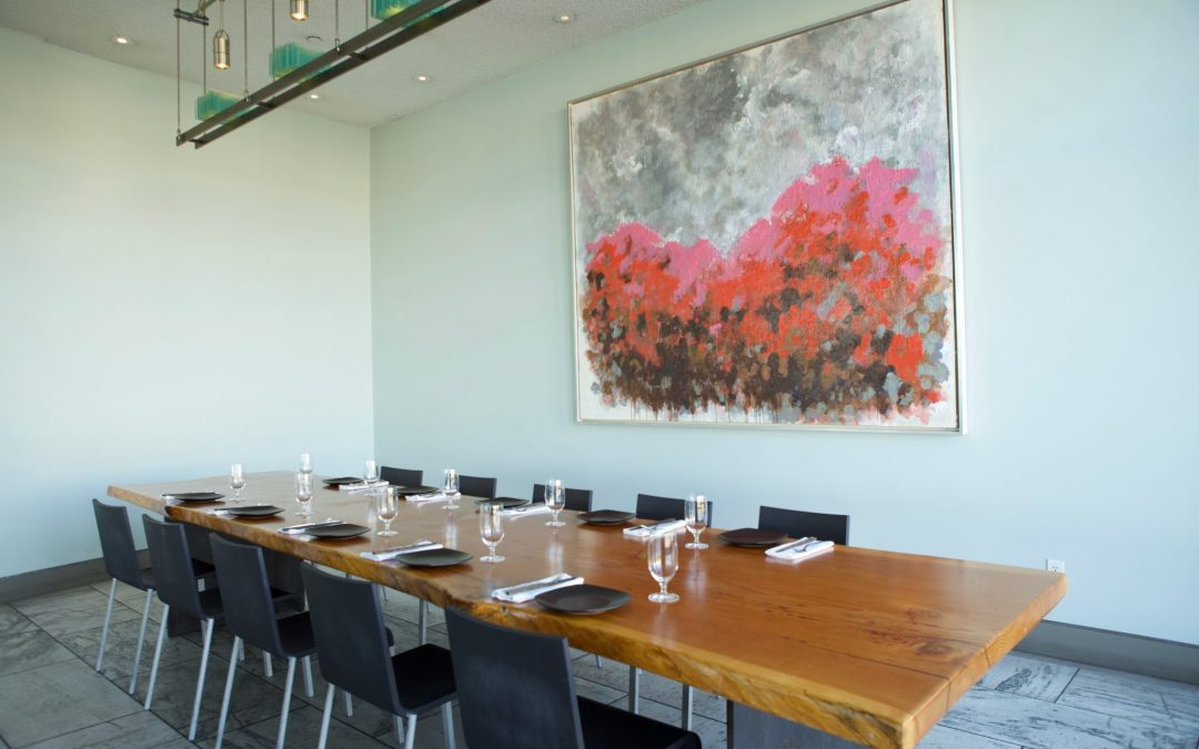 Slanted Door – Private Dining Room