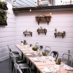 Outdoor Patio private dining